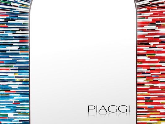 Stadium multicolour PIAGGI glass mosaic mirror image 3