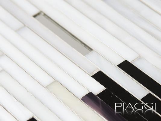 Mirage PIAGGI decorative glass mosaic art panel image 5