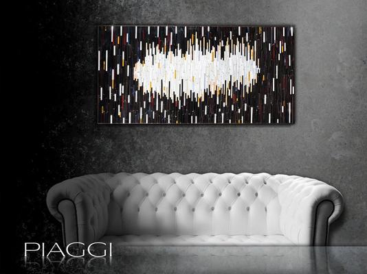 Mirage PIAGGI decorative glass mosaic art panel image 6