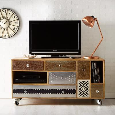 Sorio Multi Drawer Quirky TV Unit Reclaimed