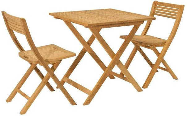 Roble Folding Patio Set for Two image 3
