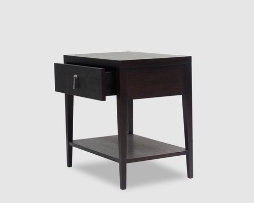 Sina Wenge Oak Beside Table image 3