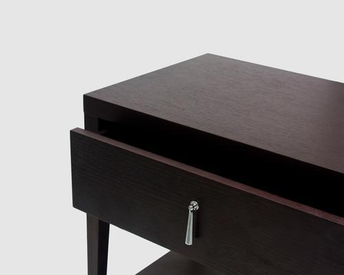 Sina Wenge Oak Beside Table image 4