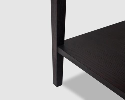 Sina Wenge Oak Beside Table image 5