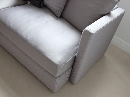 Asana 3 Seat Dark Grey Fabric Sofa image 3