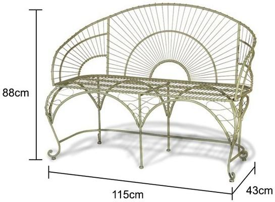 Wire Bench image 2