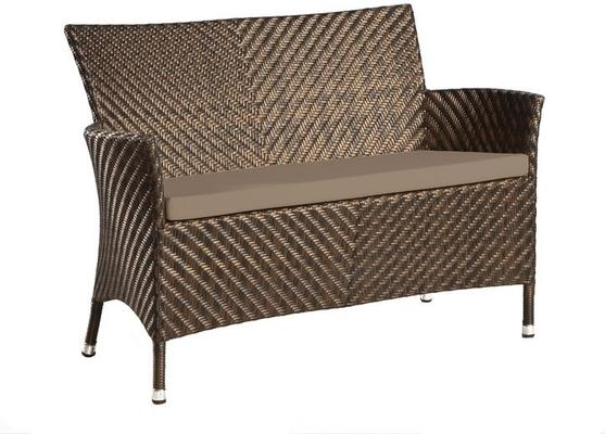 Odelia Ocean Wave Outdoor Bench image 3