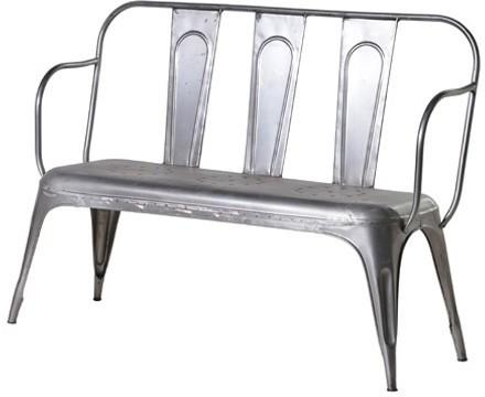 Metal Garden Bench image 2
