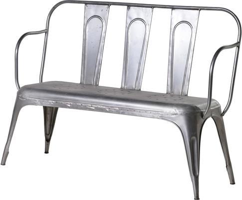 Metal Garden Bench image 3
