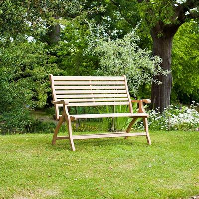Roble Folding Garden Bench