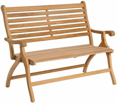 Roble Folding Garden Bench image 3