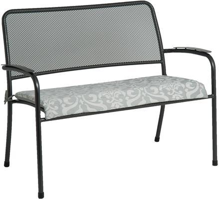 Portofino Garden Bench Metal Mesh image 5