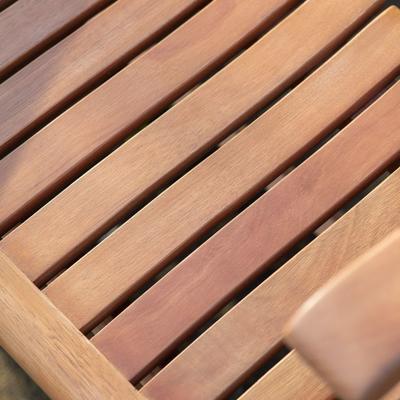 Corfu Outdoor Folding Bench image 3