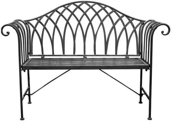 Duchess Antique Outdoor Metal Bench