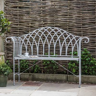Duchess Antique Outdoor Metal Bench image 2