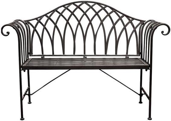 Duchess Antique Outdoor Metal Bench image 4