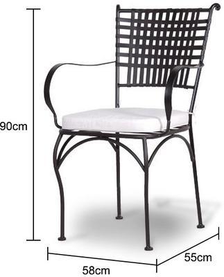 Lattice Garden Chair image 2