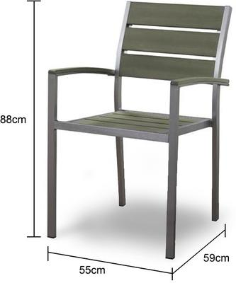 Zen Garden Chair Japanese Style image 2