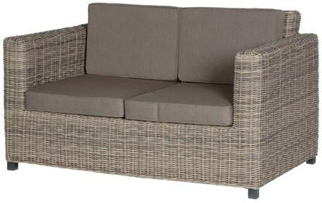 Two Seater Rattan Outdoor Sofa