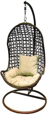 Jaliyah Hanging Outdoor Chair Rattan with Aluminium Frame