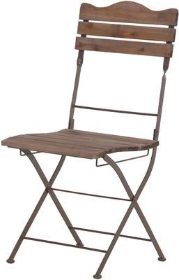 Wooden Slats Garden Chair