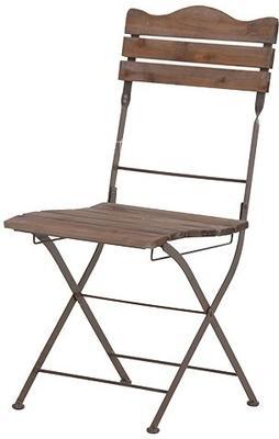 Wooden Slats Garden Chair image 2