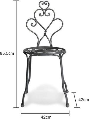 Pretty Iron Garden Chair image 3