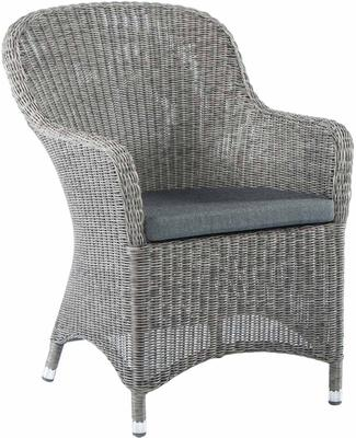 Chandra Monte Carlo Curved Top Garden Armchair With Cushion image 3