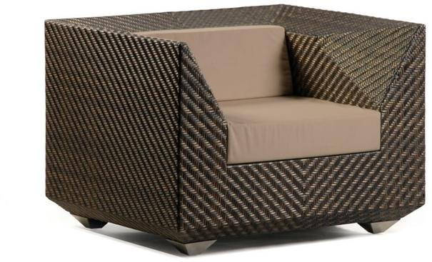 Olathe Ocean Maldives Outdoor Armchair With Cushion