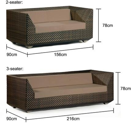 Olga Ocean Maldives Outdoor Sofa With Cushion image 5