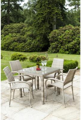 Olwen Ocean Fiji Outdoor Stacking Armchair image 9