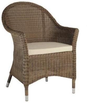 Shula San Marino Outdoor Curved Top Armchair image 3