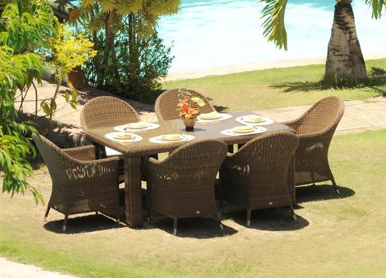 Shula San Marino Outdoor Curved Top Armchair image 4