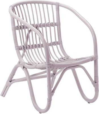 Bloomingville Small Rattan Chair - Blue image 4