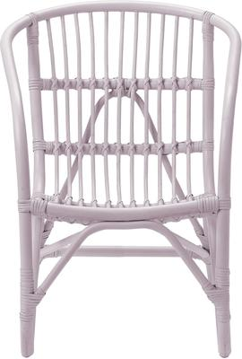 Bloomingville Small Rattan Chair - Blue image 6