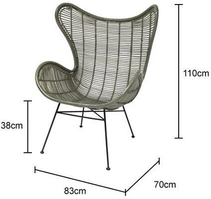 Rattan Egg Chair image 5