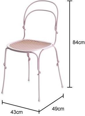 Magis Retro Garden Shiny Chair Black or White image 2