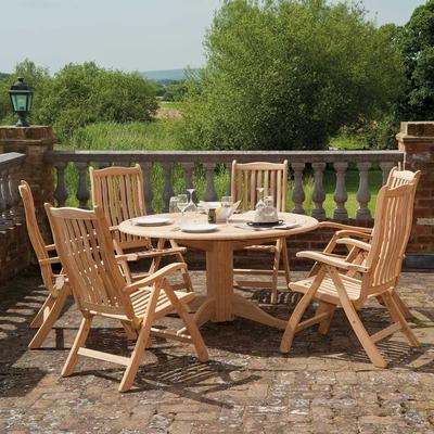 Roble Ascot Reclining Garden Chair