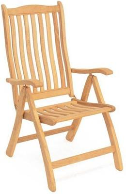 Roble Ascot Reclining Garden Chair image 2