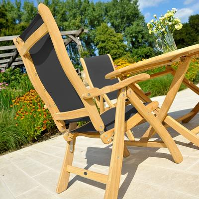 Roble Reclining Garden Chair image 4