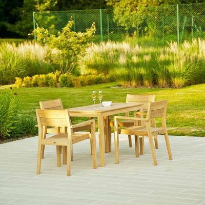 Roble Stacking Garden Armchair