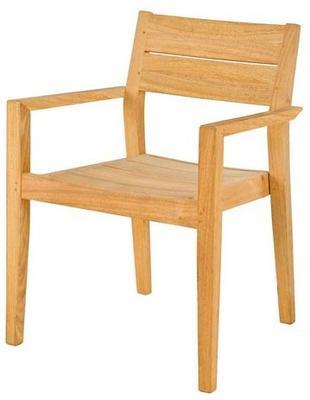 Roble Stacking Garden Armchair image 2