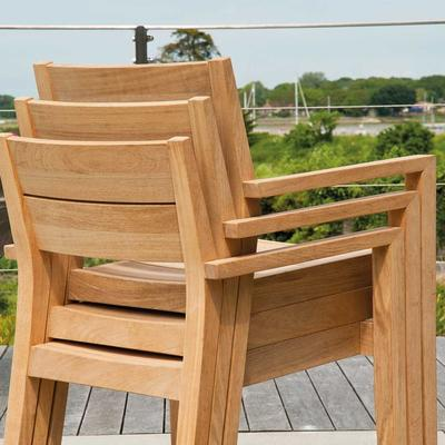 Roble Stacking Garden Armchair image 4