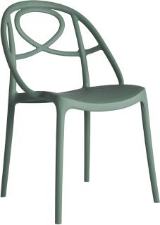 Etoile Side Chair Contemporary Stacking Design image 3