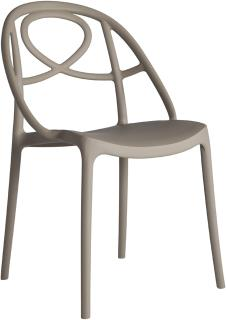 Etoile Side Chair Contemporary Stacking Design image 4