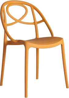 Etoile Side Chair Contemporary Stacking Design image 5
