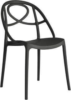 Etoile Side Chair Contemporary Stacking Design image 6