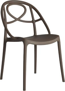 Etoile Side Chair Contemporary Stacking Design image 8