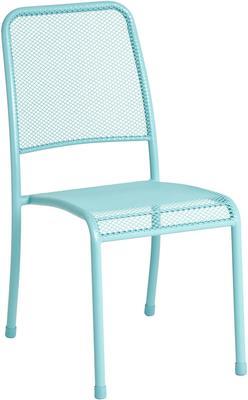 Portofino Metal Mesh Stacking Side Garden Chair image 3