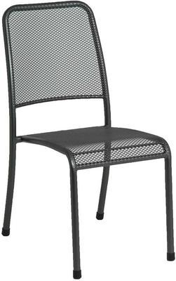 Portofino Metal Mesh Stacking Side Garden Chair image 5